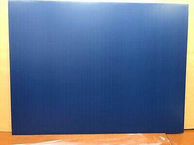 100 Blank Signs Dark Blue 18 X 24 X4 Mmcorrugated Plastic Panel 100 Pieces