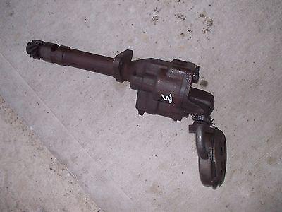Farmall M Early Sm Tractor Original Ihc Ih Engine Motor Oil Pump Sump Screen