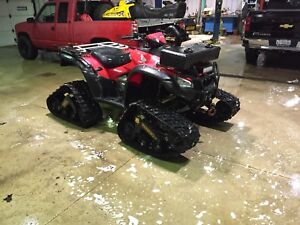 Complete atv track package