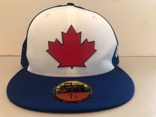 Toronto Blue Jays MLB Maple Leaf Baseball Cap New Era 59Fift
