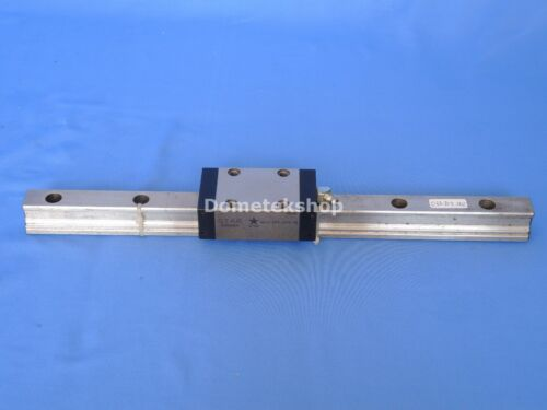 Star 1622-293-294-10 bearing block and rail