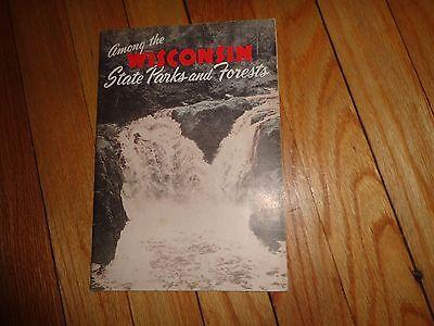 Vintage Wisconsin State Parks Guide Kettle Moraine Devil's Lake Flambeau River