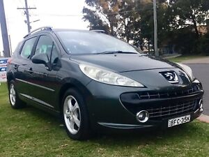 2007 Peugeot 207 XT TOURING HDi 4 Cyl Turbo Diesel Manual Wagon Warranty Leumeah Campbelltown Area Preview