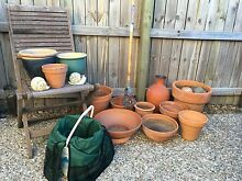 Terracotta pots edger and organiser Coorparoo Brisbane South East Preview