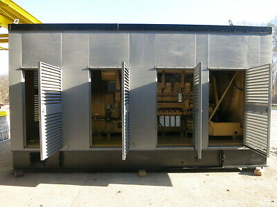 Caterpillar 2187kva1750kw Cat 3516 Diesel Sr-4b Generator Set 598hr 1996 Genset