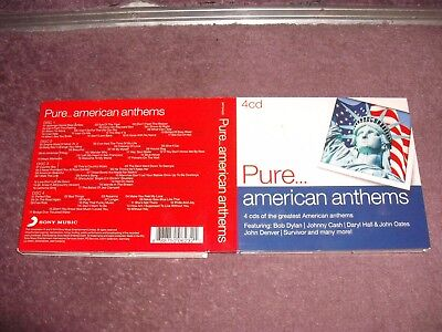 Pure American Anthems 4 CD Digipak
