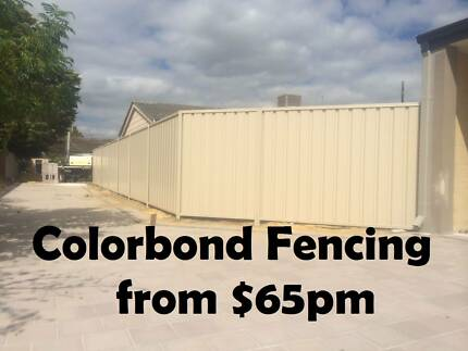 Value Colorbond Fencing and Free Quotes