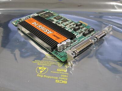 AudioScience ASI6614 Broadcast PCIe AES Digital Sound Card Balanced