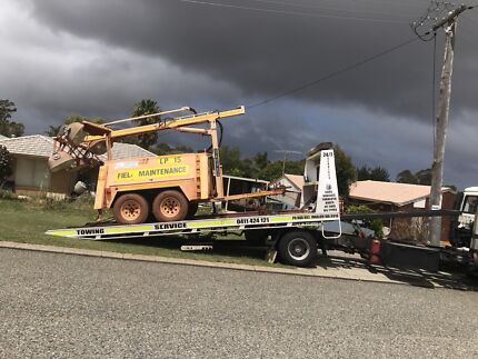 All machinery transport services anywhere in Perth affordable service