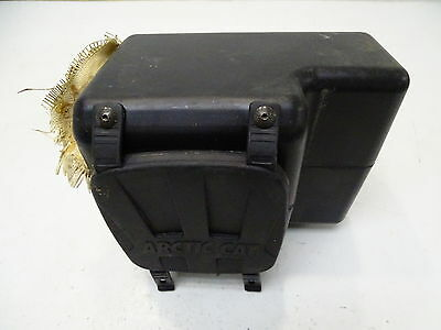 2005 Arctic Cat 400 4x4 Cargo Glove Storage Box with Lid & Straps