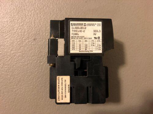 NEW NO BOX SQUARE D CONTACTOR 8910 HO-2 SERIES D