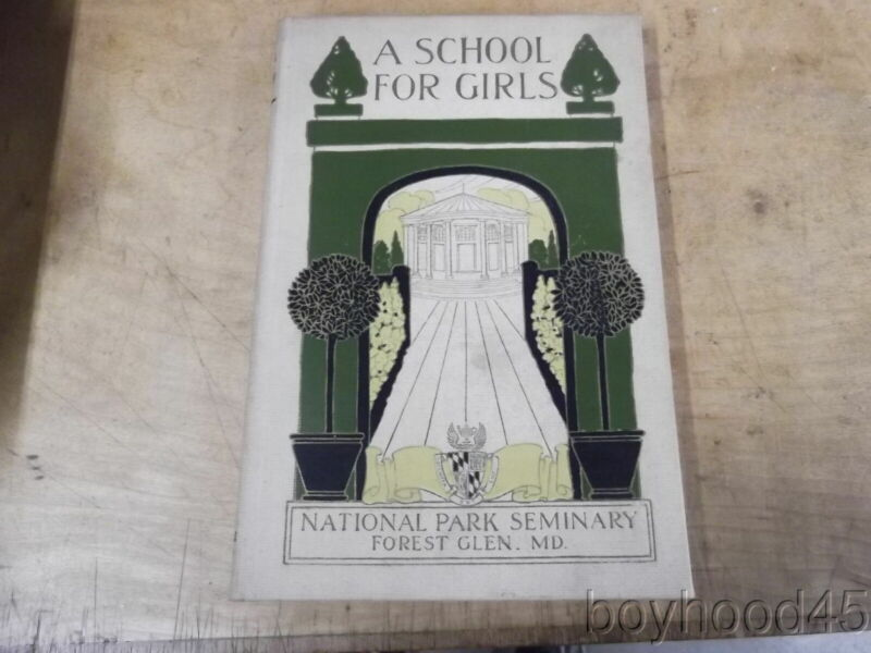 National Park Seminary, Forest Glen, Maryland--View Book & College Catalog
