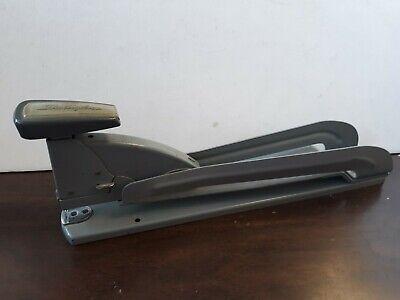 Vintage Industrial Gray Swingline 3 Speed Stapler Extra Deep Saddle Stapler