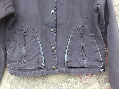 Veste en jean fil d'écume taille m