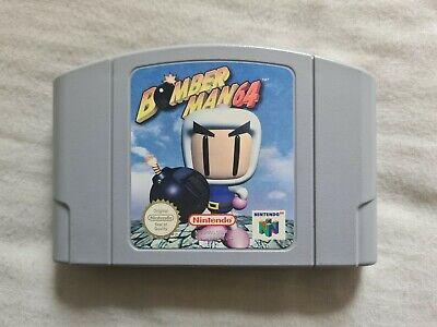 BOMBER MAN 64 Nintendo 64 N64 Game PAL VERSION Bomberman