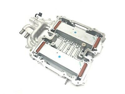 Cadillac CTS LF3 LF4 Twin Turbo Intake Manifold Cooler Cover Assembly New