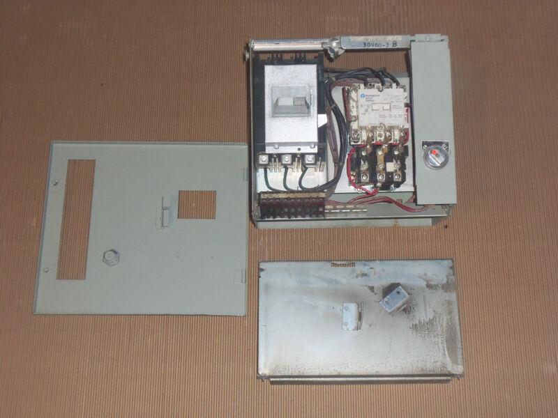 CUTLER HAMMER TYPE W SIZE 1 STARTER 30 AMP BREAKER MCC MCCB BUCKET HOA 12
