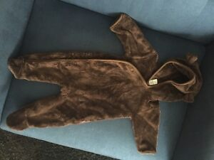 Bear fleece snowsuit BABY GAP