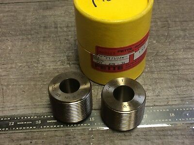 New Set Of Fette Thread Rolling Dies 1 58 - 12