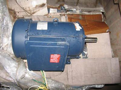 Leeson Electric Motor 141362.00 C215k17fb134a 10 Hp 1730 Rpm 1-ph 230 Volt