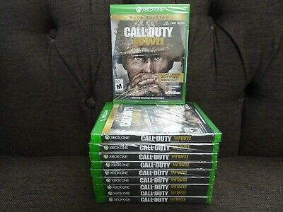 Activision Video Game Call Of Duty WWII - Gold Edition Xbox One NEW!!!