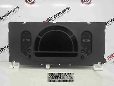 Renault Modus 2004-2008 Instrument Panel Dials Gauges Clocks 8200418023