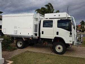 4x4 ISUZU NPS300  Crew Cab Series3 EuroV Slide on Camper Hope Island Gold Coast North Preview