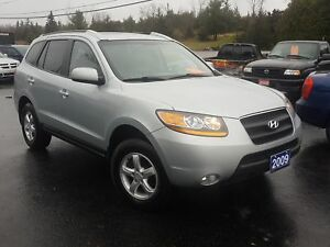 2009 Hyundai Santa Fe  AWD LEATHER SUNROOF 153K SAFETIED