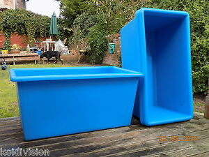 Quarantine tank ponds water features ebay for Koi holding pool