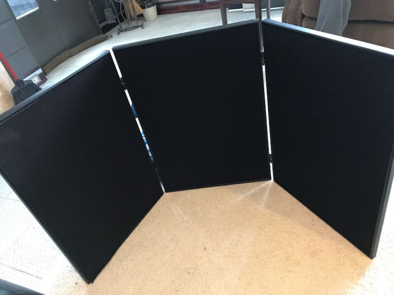 Tabletop Display Kit, with Header -Black With Carry Padded Bag
