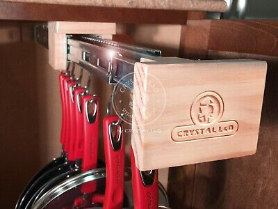 Pull Out Kitchen Cabinet Organizer and Storage for Cookware Pots and -