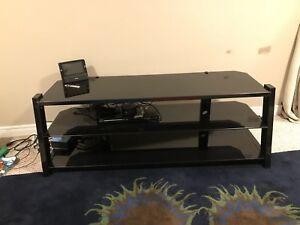 Tv stand ( black )