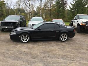 PARTING OUT 2002 MUSTANG GT BUILT MOTOR AND PERFORMANCE PARTS