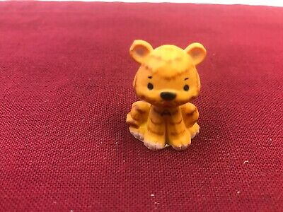 """Vintage Tiger with the Letter """"A"""" Painted on Front-""""A"""" for Team Tigers-Figurine"""