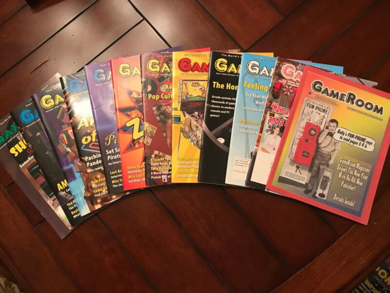 2006 - Complete 12 Issues of Gameroom Magazine