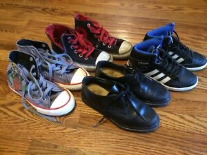 Kid's Sz 12 Shoes: Adidas, Converse, Griffin -PRICES REDUCED-