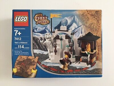 LEGO Vintage Orient Expedition Yeti's Hideout (7412) New Sealed Box NISB NOS