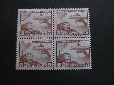 CHILE - BLOCK OF STAMPS - LIQUIDATION STOCK -  EXCELLENT OLD STAMPS - 3375/27