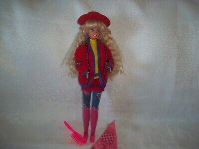 1990 Vintage Benetton Barbie Doll.Big Hair
