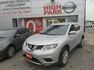 2015 NISSAN Rogue S FREE WINTER TIRES!! NEW YEARS EVE CLEAROUT