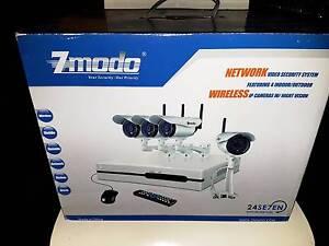 CAMERA DVR Surveillance KNS4-IASFZ4ZN 4Channel NVR 4 Wireless IP Girrawheen Wanneroo Area Preview