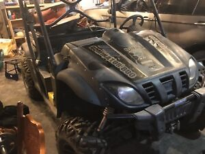 2012 800cc odes dominator 800 side by side ! TRADES!???