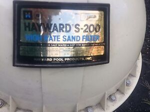 SAND FILTER FOR POOL-works!