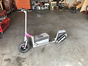 Motorized scooter project.  Cash or trades