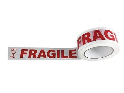2 Fragile Packaging Tape 110 Yards 2 Mil Carton Box Sealing 36 Rolls Case