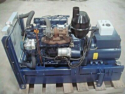 20 Kw Diesel Generator Emergency Standby Genset Turbo 4 Cyl Kubota W Fuel Tank