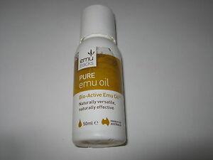 AUSTRALIA EMU TRACKS Pure Emu Oil 50ml FREEPOST
