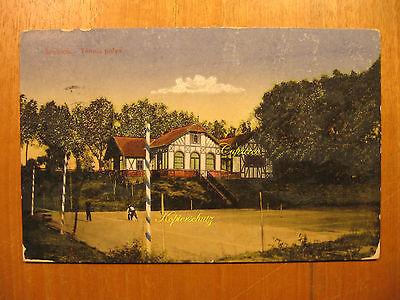 1915 alte AK Szolnok Tennis palye