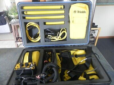 Trimble Navigation Sonar Kit - Dgps Tdc1 4 Batt. Charger Backpack Waist Belt
