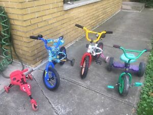Bikes and tricycles
